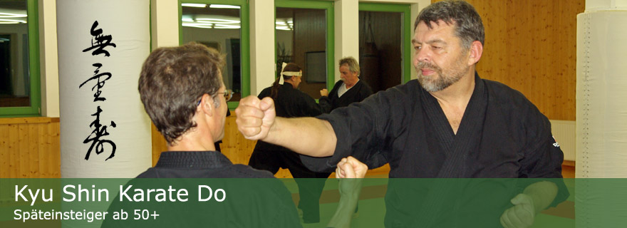 Kyu-Shin-Karate-Do-50+-